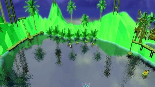 Raft Stupid Battle Simulator ❤ apk screenshot