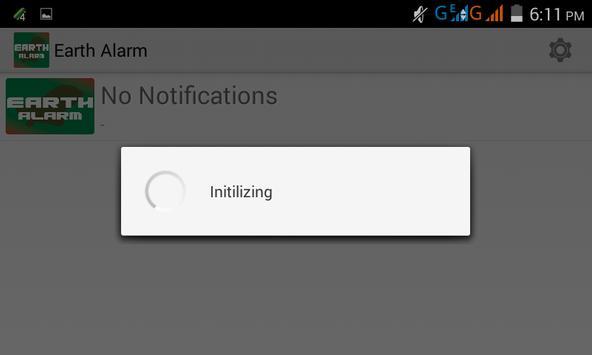 Earth Alarm apk screenshot