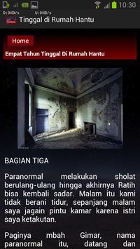 Tinggal di Rumah Hantu apk screenshot