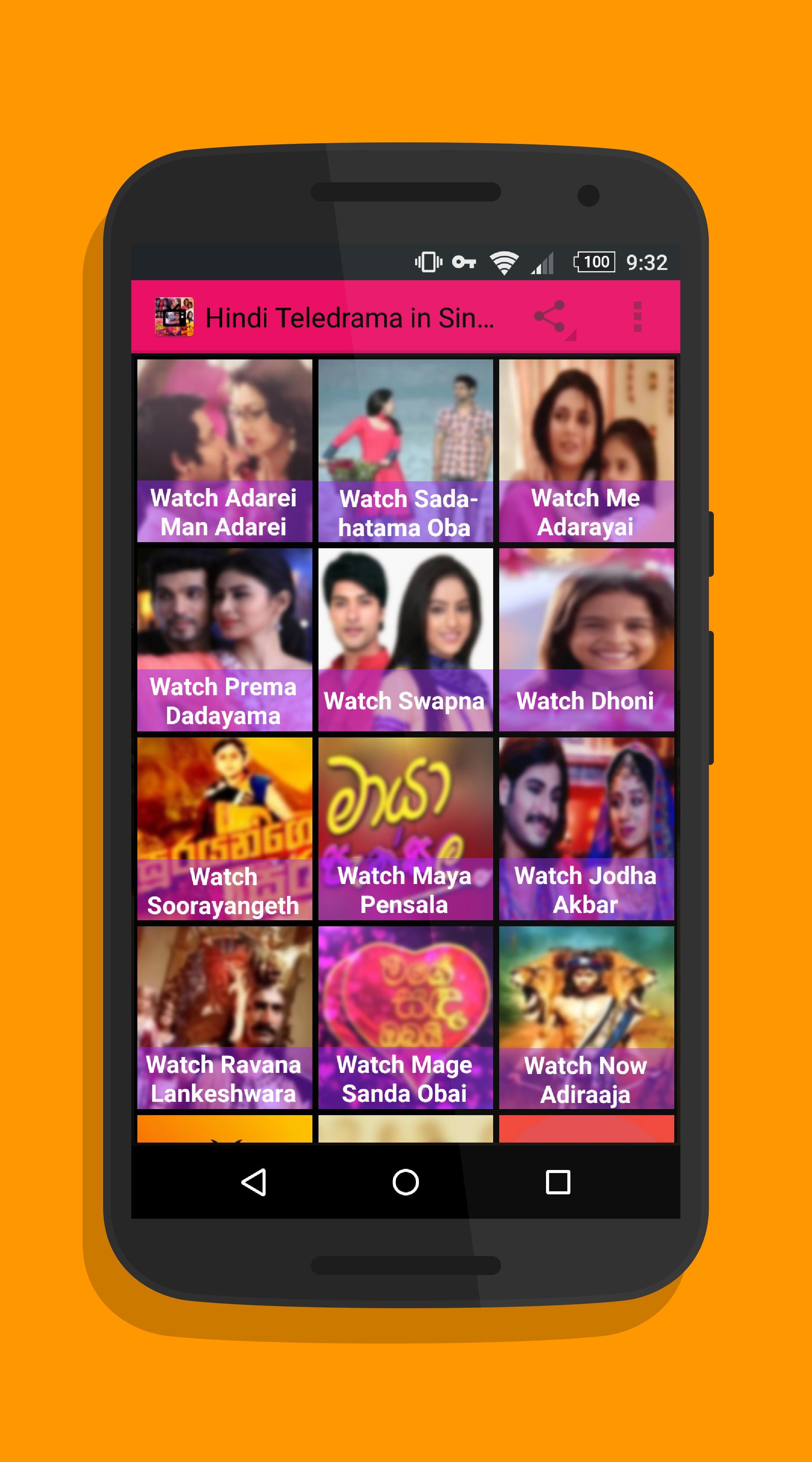 Hindi Teledrama in Sinhala for Android - APK Download