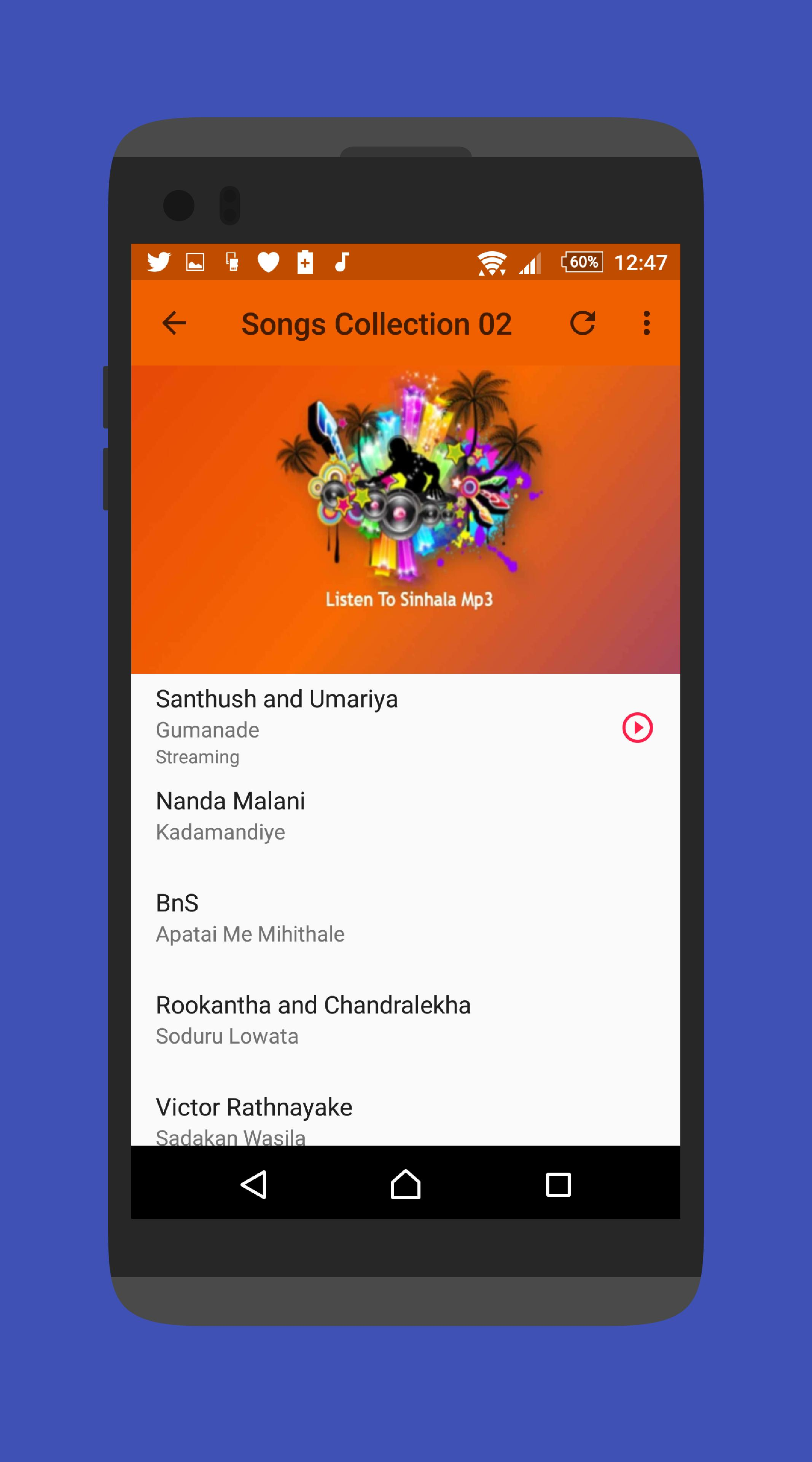 Sinhala MP3 for Android - APK Download