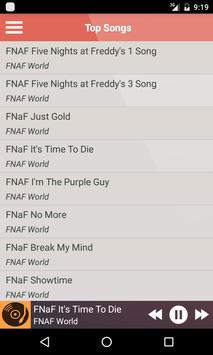 Frightening FNAF Songs lyrics apk screenshot