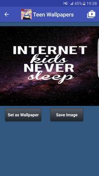 Teen Wallpapers HD poster