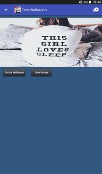 Teen Wallpapers HD apk screenshot
