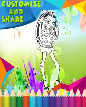How To Color Monster High screenshot 2