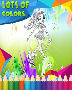 How To Color Monster High screenshot 5