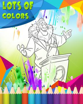 How To Color Zootopia apk screenshot