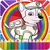 How To Color Paw Patrol icon