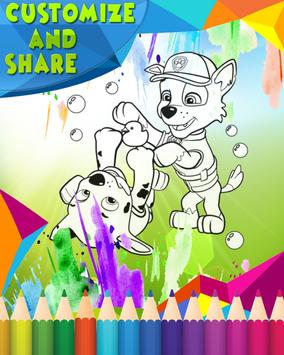 How To Color Paw Patrol screenshot 3