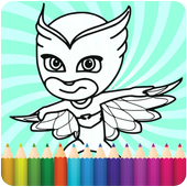 How To Color PJ Masks icon