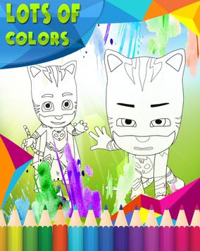 How To Color PJ Masks screenshot 3
