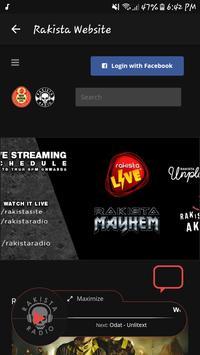 Rakista Radio screenshot 4