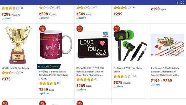 Raksha Bhandhan gifts for Brothers and Sisters screenshot 3