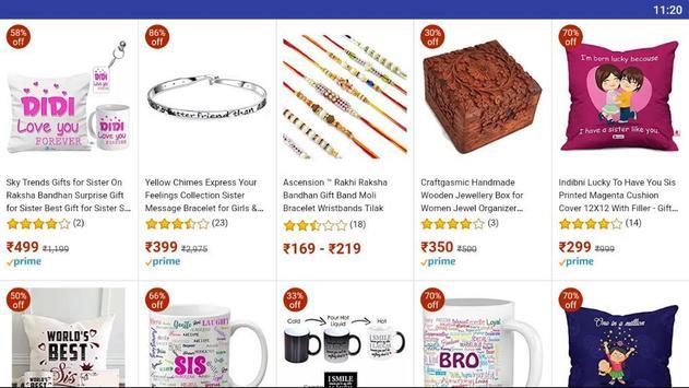 Raksha Bhandhan gifts for Brothers and Sisters screenshot 4
