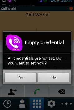 CallWorld apk screenshot