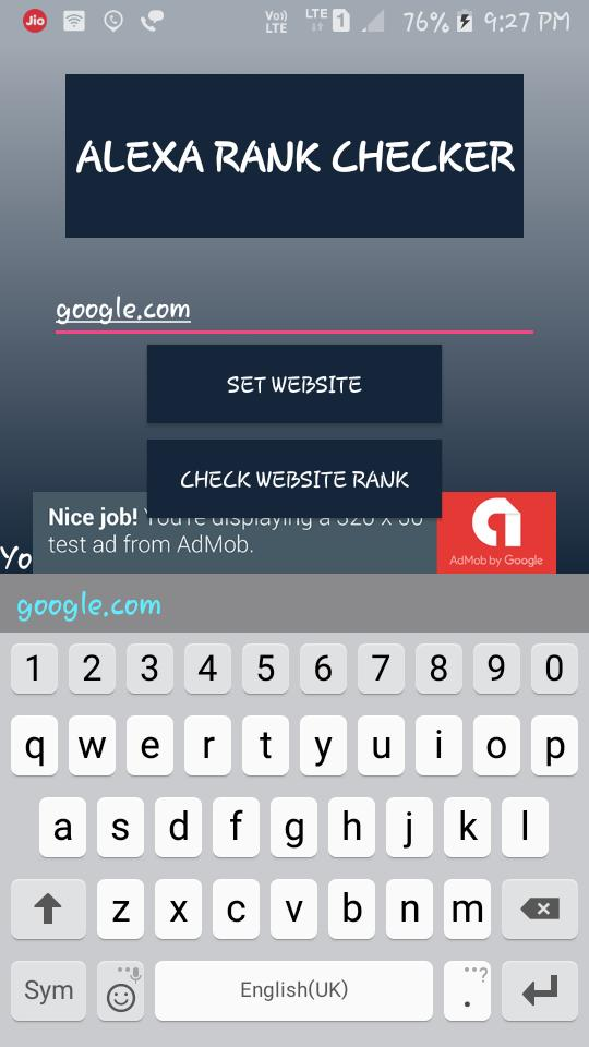 Alexa Rank Checker for Android - APK Download