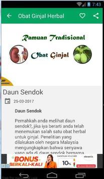 Obat Ginjal Herbal Alami screenshot 2