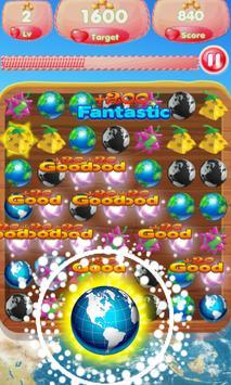 Fruit World Match Gems screenshot 1