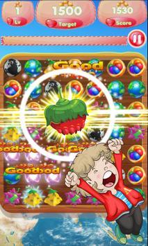 Fruit World Match Gems screenshot 4