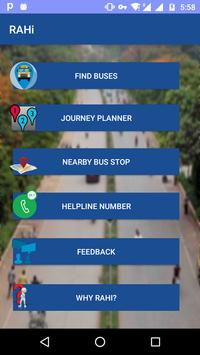 BHU Bus Tracking poster