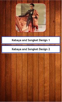 Kebaya And Songket Design apk screenshot