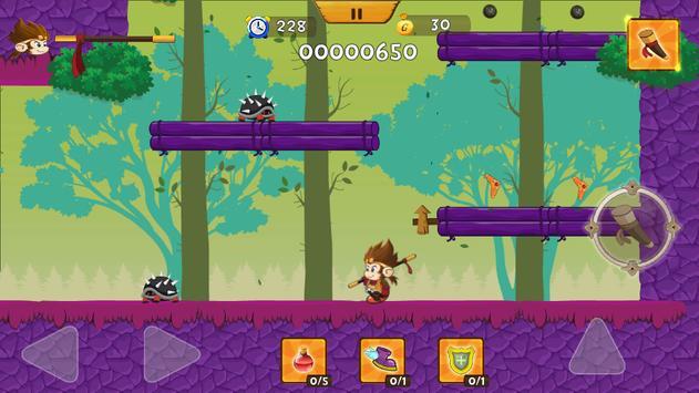 Enchanted Ninja Monkey apk screenshot