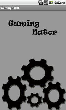 Gamingnator poster