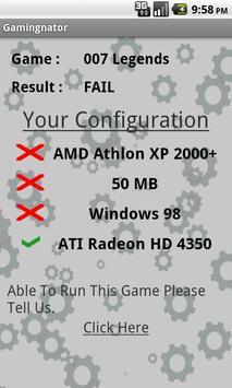 Gamingnator apk screenshot