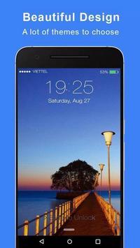 Lock Screen IOS 11 - Phone8 poster