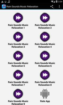 Rain Sounds Relaxation apk screenshot