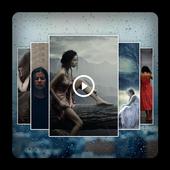 Rain Video Maker : Photo Editor icon