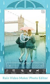 Rain Video Maker : Photo Editor apk screenshot