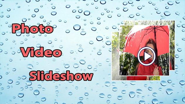 Rainy Photo Video Maker screenshot 2
