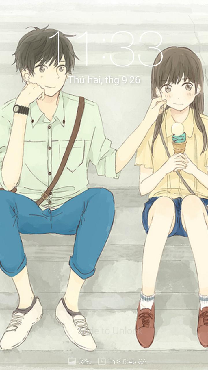 Anime Couple Cute Wallpapers For Android Apk Download