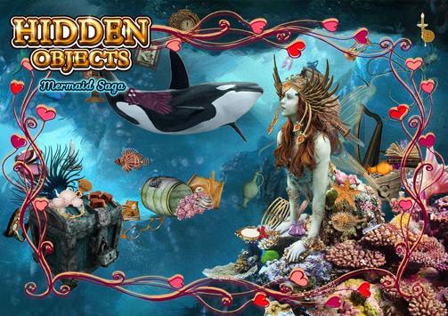 Hidden Object - Mermaid Saga screenshot 4