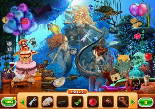 Hidden Object - Mermaid Saga screenshot 6