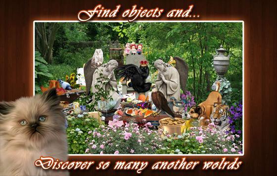 Hidden Object - Angel Garden apk screenshot
