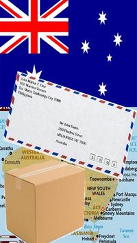 AUSTRALIA POSTAL CODE poster