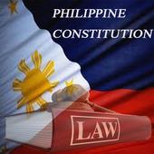 1987 Philippine Constitution icon
