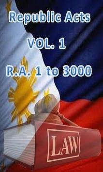 Philippine Laws - Vol. 1 poster