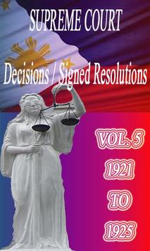 Phil Supreme Court Vol. 5 poster