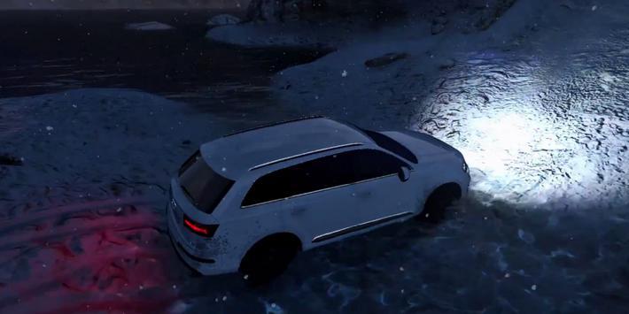 Q7 Driving Audi Winter 3D apk screenshot