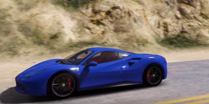 Driving Ferrari Simulator 3D poster