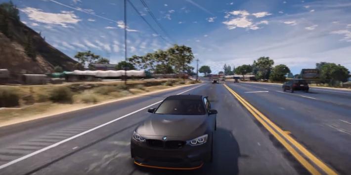 M4 Driving BMW Simulator 3D poster