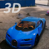3D Bugatti Driving Simulator icon