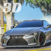 LC 500 Driving Lexus Simulator icon