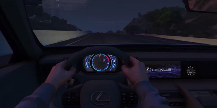 LC 500 Driving Lexus Simulator screenshot 12