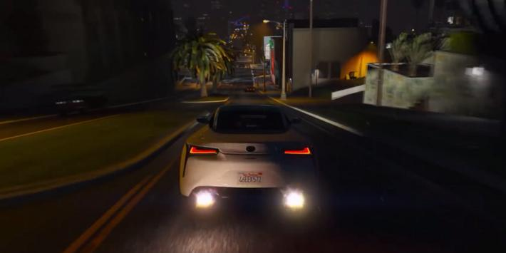 LC 500 Driving Lexus Simulator apk screenshot