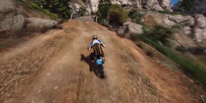 Real Dirt Bike 3D apk screenshot