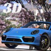 Driving Porsche Simulator 3D icon